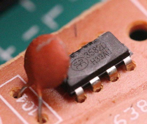 IC HT3582 D untuk pengendali charger baterai 18650