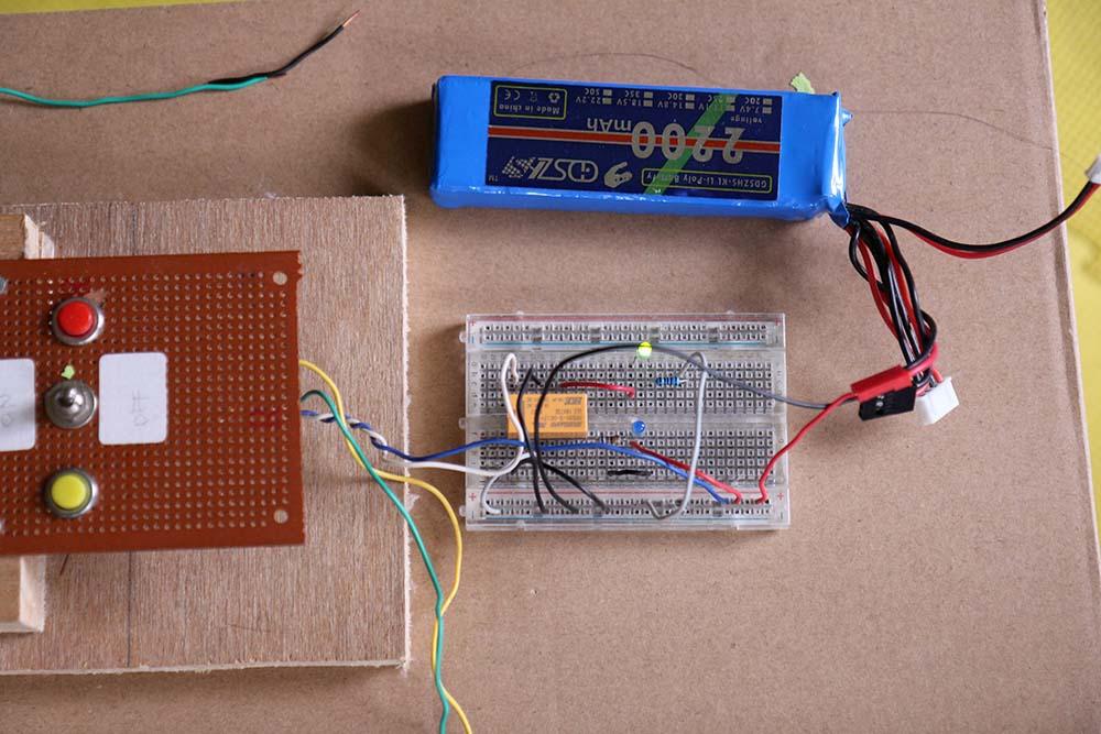 Rangkaian relay 12 volt