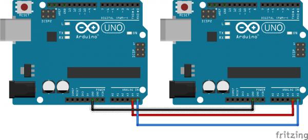 Arduino UNO Master Slave I2C