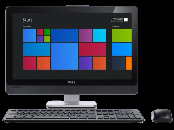 Contoh komputer desktop