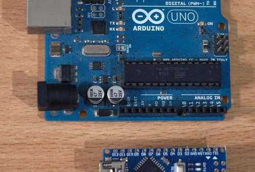Arduino UNO dan Arduino Nano