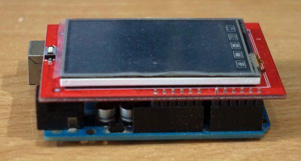 "Arduino UNO dan shield TFT LCD 2.4"""