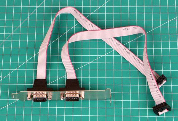 Kabel RS232 DB9 untuk mainboard komputer desktop