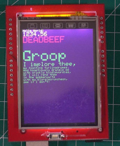"TFT LCD 2.4"" Shield untuk Arduino UNO"