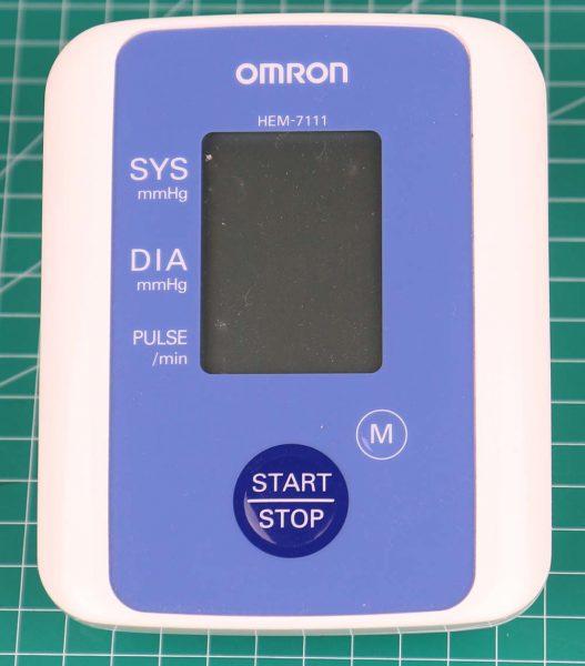 Omron HEM-7111 Automatic Blood Pressure Monitor
