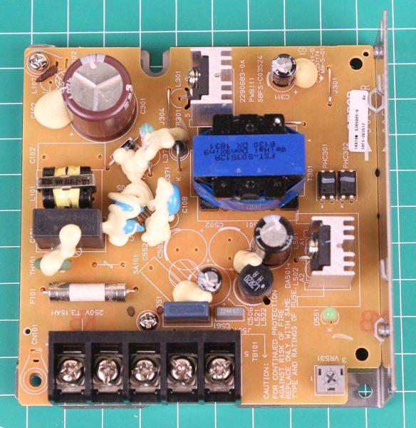 PCB power supply Omron bagian bawah
