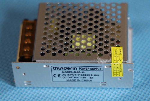 Power supply Thunderin 12 volt 5 ampere