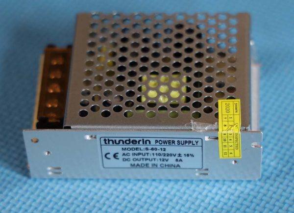 Power supply Thunderin 12 volt 5 ampere