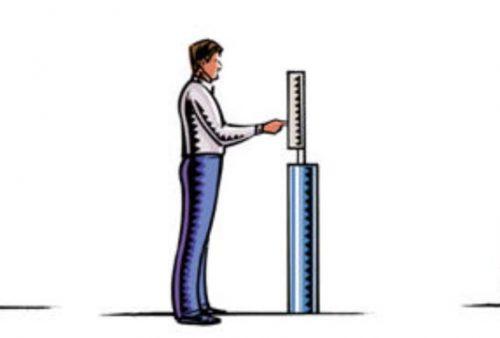 Ergonomi untuk penempatan HMI dengan akses sambil berdiri