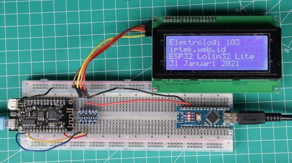 ESP32 dan LCD 20x4