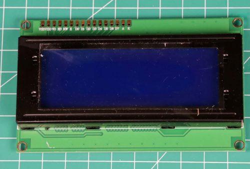 LCD 20x4 tampak depan
