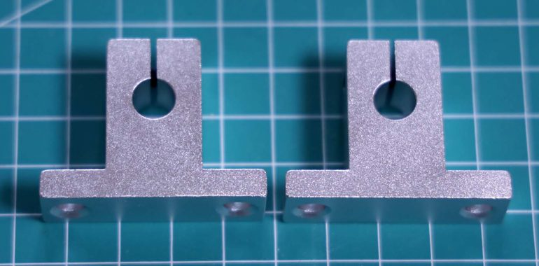 Linear rail support