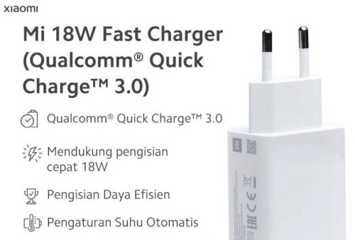 Charger Mi 18 watt fast charger