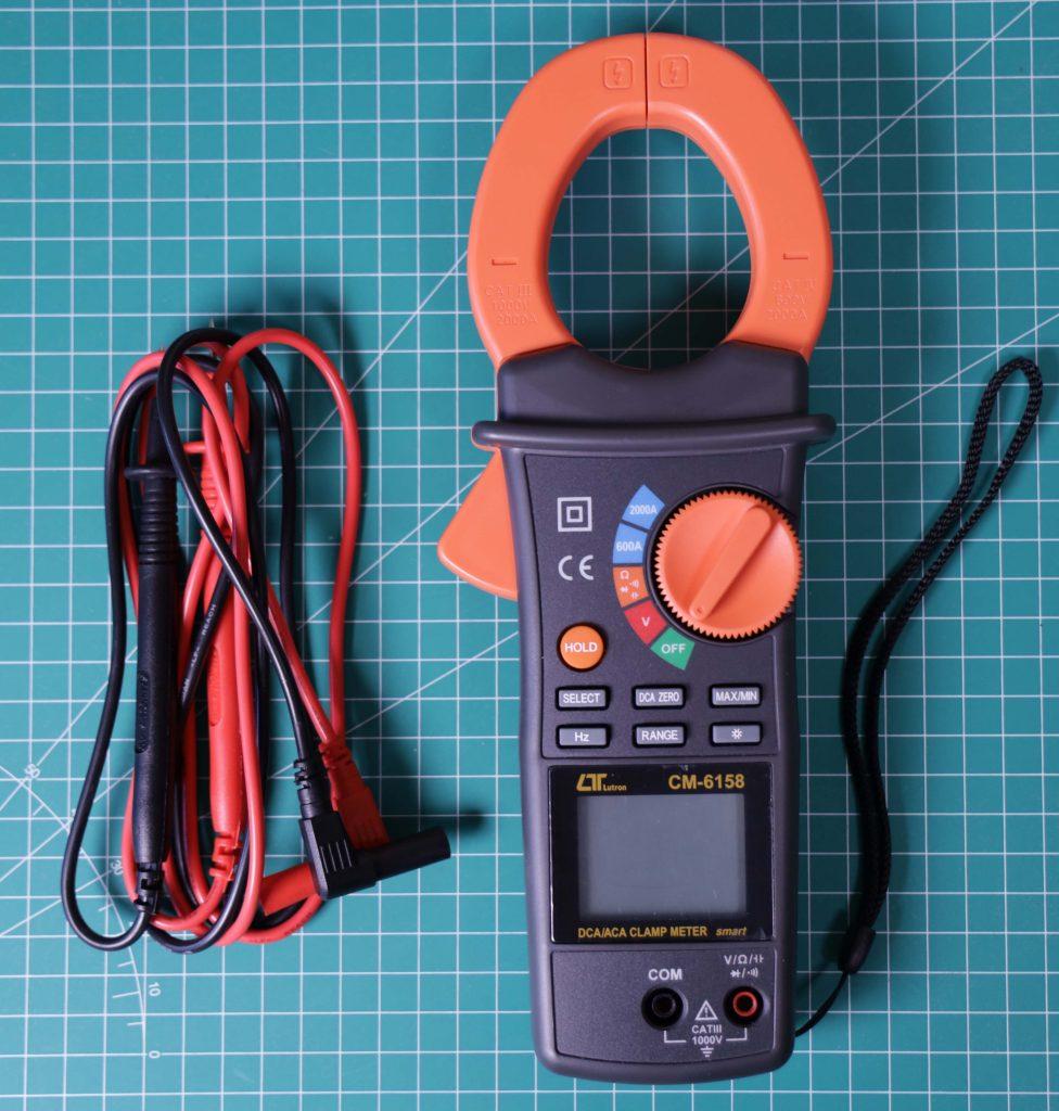 Tang ampere CM-6158 dengan kabel probe