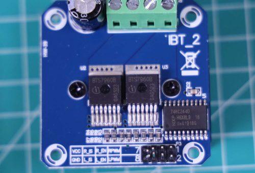 BTS 7960 tampak atas